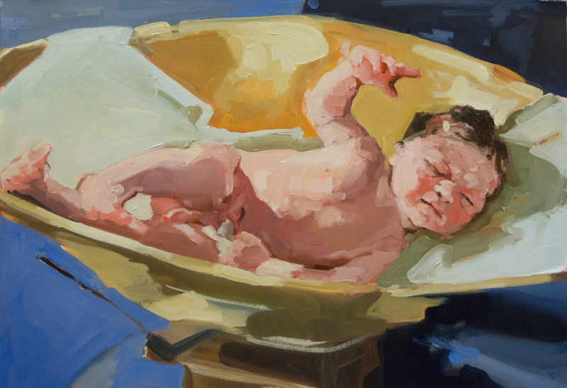 JantiendeBoer_2780grams_Birth_oil_35x50cm_web